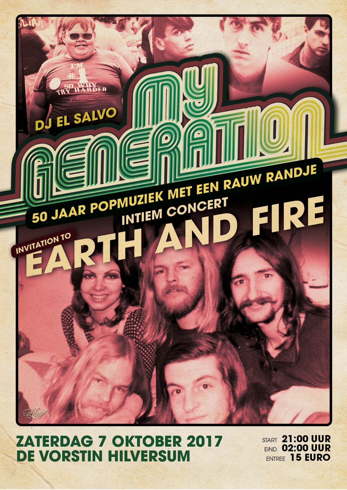 MY GENERATION INVITATION TO EARTH  FIRE
